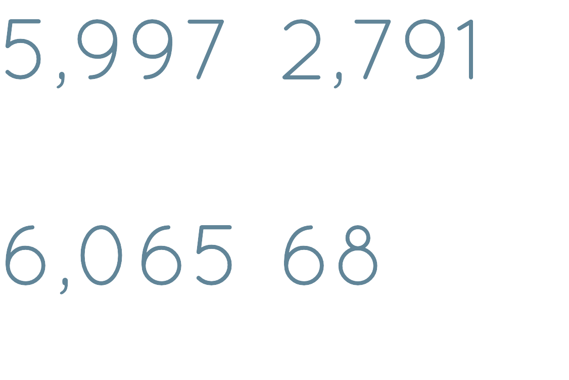 2,791 deaths in China